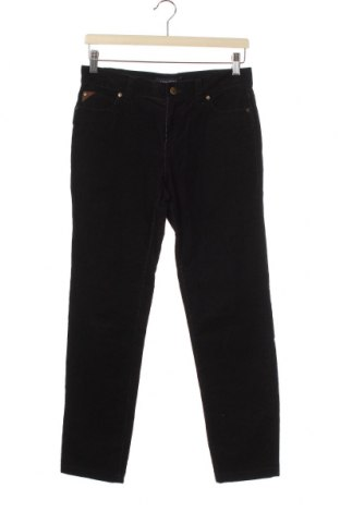 Dětské manšestráky  Nautica, Velikost 12-13y/ 158-164 cm, Barva Černá, 98% bavlna, 2% elastan, Cena  590,00Kč