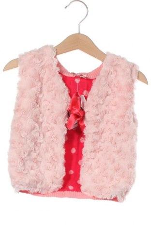 Детски елек Beebielove, Размер 18-24m/ 86-98 см, Цвят Розов, Памук, Цена 39,20лв.