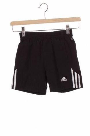 Детски къс панталон Adidas, Размер 7-8y/ 128-134 см, Цвят Черен, Полиестер, Цена 17,25лв.