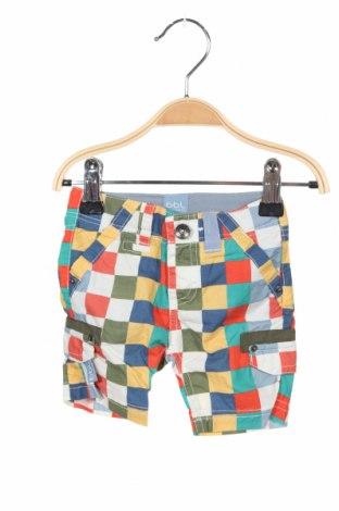 Детски къс панталон Beebielove, Размер 2-3m/ 56-62 см, Цвят Многоцветен, Памук, Цена 36,75лв.