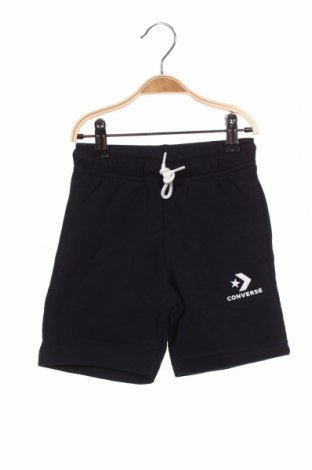 Pantaloni scurți pentru copii Converse, Mărime 3-4y/ 104-110 cm, Culoare Albastru, 60% bumbac, 40% poliester, Preț 106,74 Lei