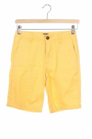 Παιδικό κοντό παντελόνι Gap Kids, Μέγεθος 10-11y/ 146-152 εκ., Χρώμα Κίτρινο, Βαμβάκι, Τιμή 12,99€