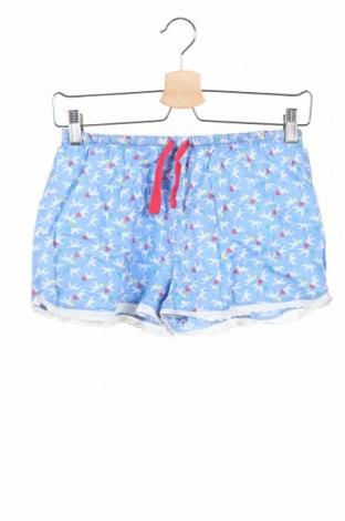 Pantaloni scurți pentru copii H&M, Mărime 12-13y/ 158-164 cm, Culoare Albastru, Bumbac, Preț 49,74 Lei