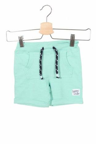 Детски къс панталон Name It, Размер 2-3y/ 98-104 см, Цвят Зелен, 95% памук, 5% еластан, Цена 19,50лв.