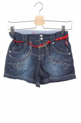 Детски къс панталон Pacino, Размер 9-10y/ 140-146 см, Цвят Син, 98% памук, 2% еластан, Цена 29,25лв.