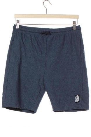 Dětské krátké kalhoty  Vrs, Velikost 14-15y/ 168-170 cm, Barva Modrá, 60% bavlna, 40% polyester, Cena  303,00Kč