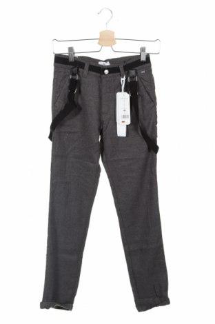 Pantaloni pentru copii, Mărime 10-11y/ 146-152 cm, Culoare Gri, 50% lână, 50% viscoză, Preț 170,23 Lei