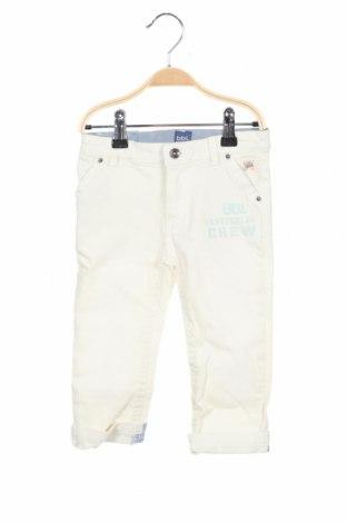 Детски панталон Beebielove, Размер 18-24m/ 86-98 см, Цвят Бял, 95% памук, 5% еластан, Цена 36,75лв.