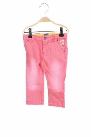 Детски панталон Beebielove, Размер 18-24m/ 86-98 см, Цвят Розов, 95% памук, 5% еластан, Цена 36,75лв.
