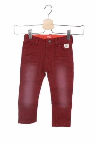 Детски панталон Beebielove, Размер 18-24m/ 86-98 см, Цвят Червен, 95% памук, 5% еластан, Цена 44,25лв.