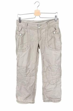Pantaloni pentru copii H&M, Mărime 15-18y/ 170-176 cm, Culoare Bej, 100% bumbac, Preț 56,37 Lei