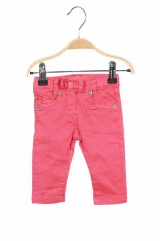 Pantaloni pentru copii Steiff, Mărime 3-6m/ 62-68 cm, Culoare Roșu, 98% bumbac, 2% elastan, Preț 170,23 Lei