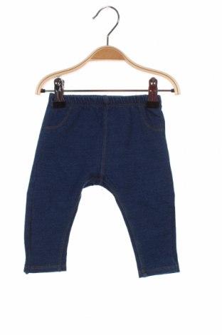 Pantaloni pentru copii Zara, Mărime 3-6m/ 62-68 cm, Culoare Albastru, Preț 54,28 Lei