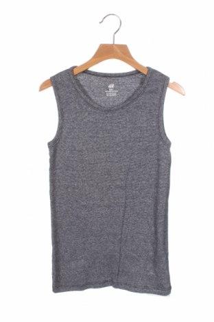 Μπλουζάκι αμάνικο παιδικό H&M, Μέγεθος 10-11y/ 146-152 εκ., Χρώμα Μπλέ, Βαμβάκι, Τιμή 10,21€