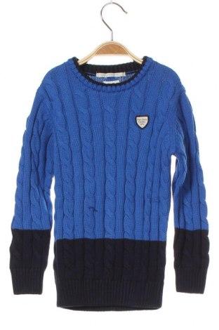Pulover pentru copii Pepe Jeans, Mărime 6-7y/ 122-128 cm, Culoare Albastru, Bumbac, Preț 239,47 Lei
