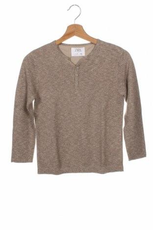 Dětský svetr  Zara, Velikost 7-8y/ 128-134 cm, Barva Béžová, 82% bavlna, 18% polyester, Cena  299,00Kč