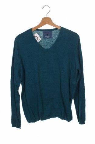 Dětský svetr  Zara, Velikost 13-14y/ 164-168 cm, Barva Modrá, 60% bavlna, 30% polyamide, 10% vlna, Cena  299,00Kč