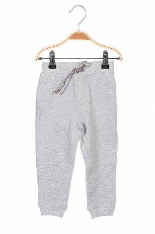 Pantaloni pentru copii Tom Tailor, Mărime 12-18m/ 80-86 cm, Culoare Gri, 93% bumbac, 7% poliester, Preț 62,00 Lei