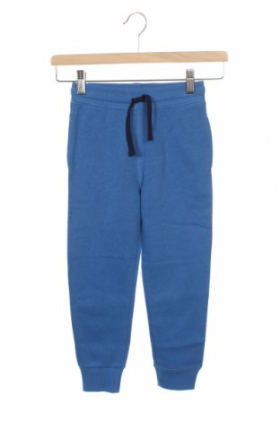 Детско спортно долнище H&M, Размер 5-6y/ 116-122 см, Цвят Син, 80% памук, 20% полиестер, Цена 21,00лв.