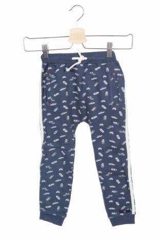 Pantaloni de trening, pentru copii Lief!, Mărime 2-3y/ 98-104 cm, Culoare Albastru, Bumbac, Preț 96,22 Lei