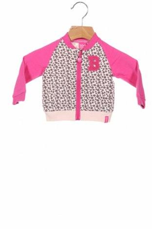 Детско спортно горнище Beebielove, Размер 2-3m/ 56-62 см, Цвят Розов, 95% памук, 5% еластан, Цена 51,75лв.