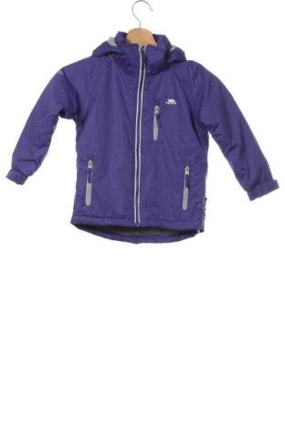 Детско спортно яке Trespass, Размер 18-24m/ 86-98 см, Цвят Лилав, Полиестер, Цена 61,10лв.