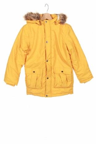 Детско яке Name It, Размер 9-10y/ 140-146 см, Цвят Жълт, Полиестер, Цена 53,20лв.