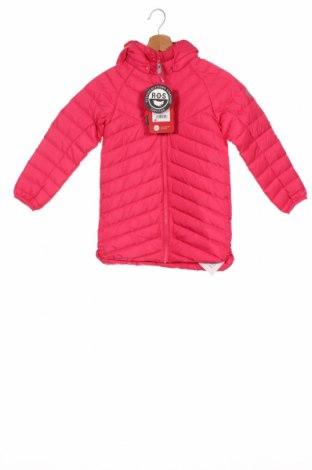 Детско яке Reima, Размер 6-7y/ 122-128 см, Цвят Розов, Полиестер, пух и пера, Цена 96,75лв.