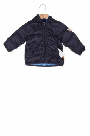 Детско яке Steiff, Размер 9-12m/ 74-80 см, Цвят Син, Полиамид, Цена 66,75лв.