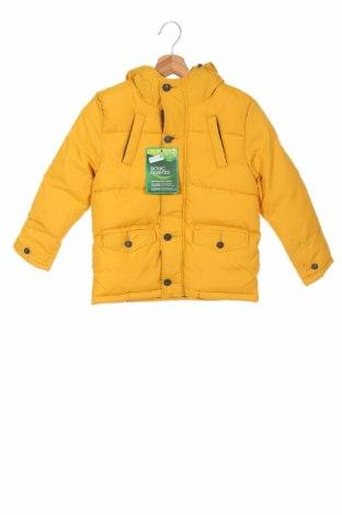 Детско яке Tom Tailor, Размер 5-6y/ 116-122 см, Цвят Жълт, Полиестер, Цена 74,25лв.