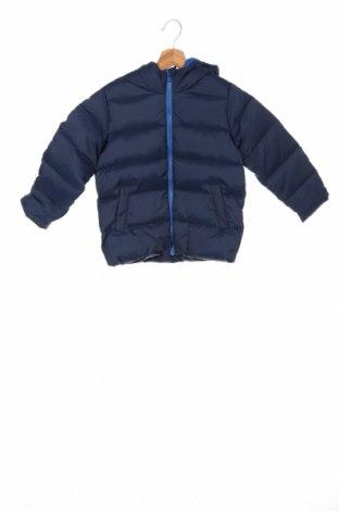 Детско яке United Colors Of Benetton, Размер 5-6y/ 116-122 см, Цвят Син, Полиестер, Цена 66,75лв.