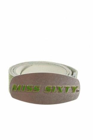 Колан Miss Sixty, Цвят Зелен, Естествена кожа, Цена 24,75лв.