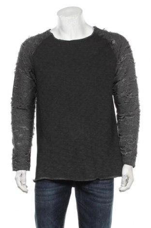 Bluză de bărbați, Mărime L, Culoare Gri, 80% bumbac, 20% poliester, Preț 86,21 Lei