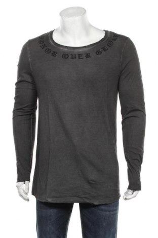 Мъжка блуза ASOS, Размер M, Цвят Сив, 65% полиестер, 35% памук, Цена 42,75лв.