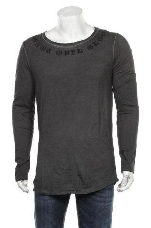 Ανδρική μπλούζα ASOS, Μέγεθος M, Χρώμα Γκρί, 65% πολυεστέρας, 35% βαμβάκι, Τιμή 35,26€
