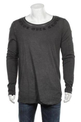 Ανδρική μπλούζα ASOS, Μέγεθος L, Χρώμα Γκρί, 65% πολυεστέρας, 35% βαμβάκι, Τιμή 35,26€