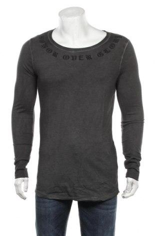 Ανδρική μπλούζα ASOS, Μέγεθος S, Χρώμα Γκρί, 65% πολυεστέρας, 35% βαμβάκι, Τιμή 35,26€