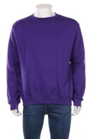 Pánské tričko  B&C Collection, Velikost L, Barva Fialová, 80% bavlna, 20% polyester, Cena  287,00Kč