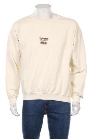 Bluză de bărbați BDG, Mărime M, Culoare Ecru, 50% bumbac, 50% poliester, Preț 151,20 Lei