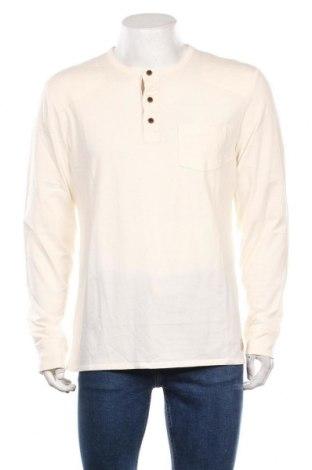 Bluză de bărbați Edc By Esprit, Mărime XL, Culoare Ecru, Bumbac, Preț 103,62 Lei