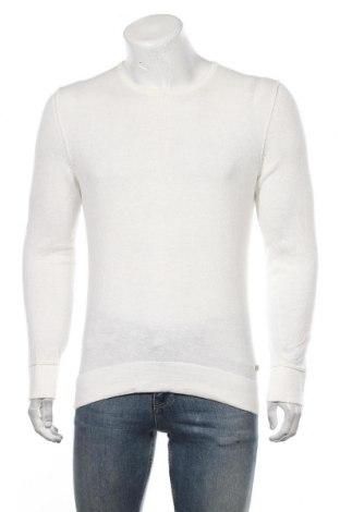Męska bluzka Esprit, Rozmiar M, Kolor ecru, 78% bawełna, 22% poliamid, Cena 78,00zł