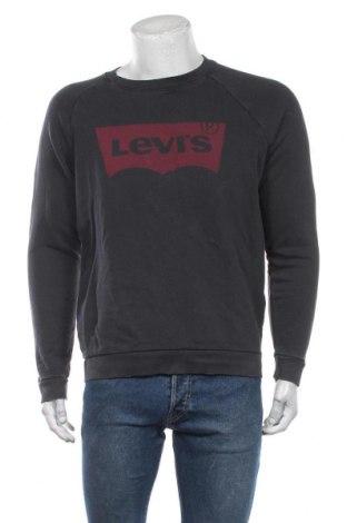 Bluză de bărbați Levi's, Mărime M, Culoare Gri, Bumbac, Preț 67,64 Lei