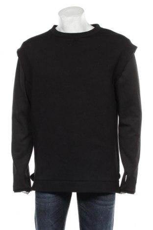 Bluză de bărbați Review, Mărime L, Culoare Negru, 70% poliester, 25% bumbac, 5% elastan, Preț 86,21 Lei