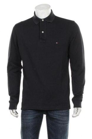 Pánské tričko  Tommy Hilfiger, Velikost L, Barva Modrá, Bavlna, Cena  586,00Kč
