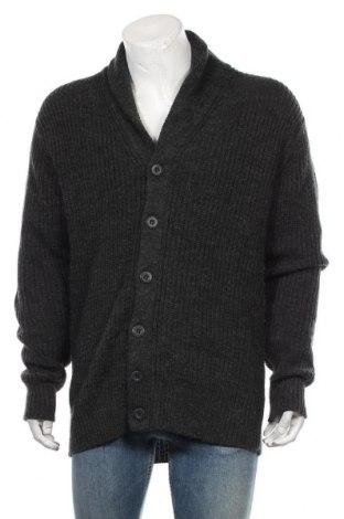 Ανδρική ζακέτα Angelo Litrico, Μέγεθος XL, Χρώμα Γκρί, 75%ακρυλικό, 15% μαλλί, Τιμή 17,54€