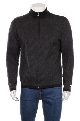Pánský kardigán Hugo Boss, Velikost M, Barva Černá, 97% bavlna, 3% elastan, Cena  1459,00Kč