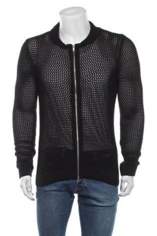 Мъжка жилетка Topman, Размер M, Цвят Черен, 51% памук, 49% акрил, Цена 29,40лв.