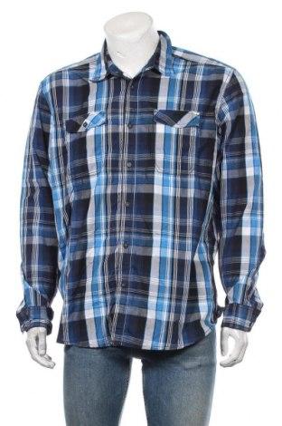 Ανδρικό πουκάμισο Angelo Litrico, Μέγεθος XL, Χρώμα Πολύχρωμο, 60% βαμβάκι, 40% πολυεστέρας, Τιμή 10,39€