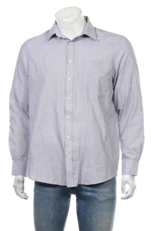 Ανδρικό πουκάμισο Angelo Litrico, Μέγεθος L, Χρώμα Γκρί, 65% πολυεστέρας, 35% βαμβάκι, Τιμή 11,69€