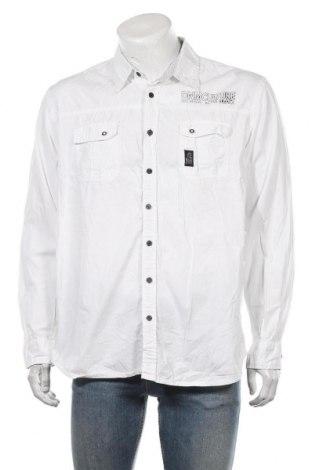Ανδρικό πουκάμισο Angelo Litrico, Μέγεθος XXL, Χρώμα Λευκό, Βαμβάκι, Τιμή 12,34€